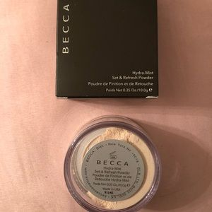 Becca Brand Hydra Mist Set Powder .35 oz